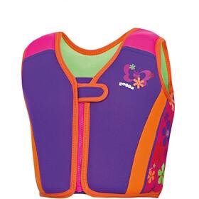 Zoggs Mermaid Flower Swim Jacket Kids Plum